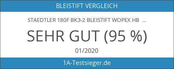 Staedtler 180F BK3-2 Bleistift WOPEX HB 3 ST