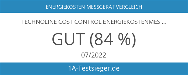 Technoline Cost Control Energiekostenmessgerät weiß