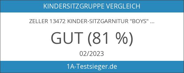 "Zeller 13472 Kinder-Sitzgarnitur ""Boys"""