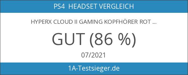 HyperX Cloud II Gaming Kopfhörer rot