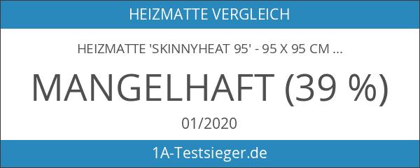Heizmatte 'SkinnyHeat 95' - 95 x 95 cm