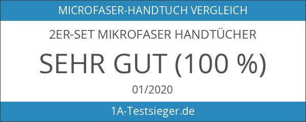 2er-Set Mikrofaser Handtücher