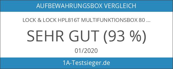 Lock & Lock HPL816T Multifunktionsbox 800ml mit Ablaufgitter