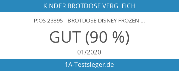 p:os 23895 - Brotdose Disney Frozen