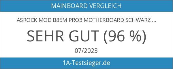 ASRock Mod B85M Pro3 Motherboard schwarz