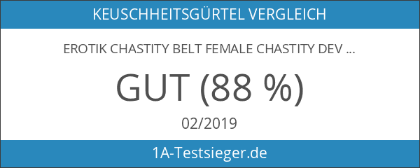 Erotik chastity belt female chastity device Lederkeuschheitsgürtel mit doppelt Dildo