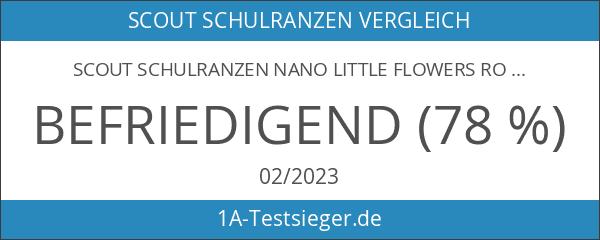 Scout Schulranzen Nano Little Flowers Rot 49100229000
