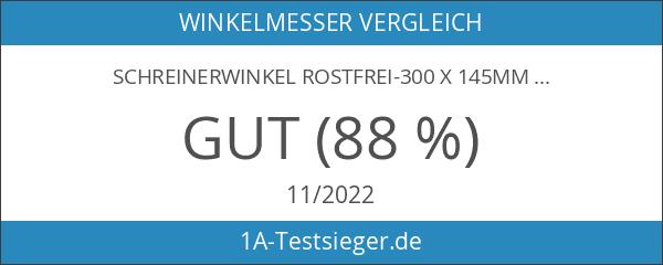Schreinerwinkel rostfrei-300 x 145mm