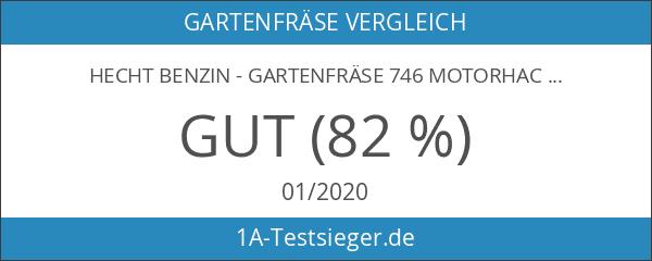 Hecht Benzin - Gartenfräse 746 Motorhacke 5