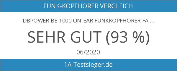 DBPOWER BE-1000 On-Ear Funkkopfhörer Faltbare Bluetooth Kopfhörer V4.0 Stereo Mit