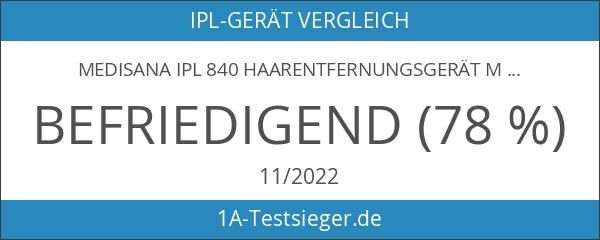 Medisana IPL 840 Haarentfernungsgerät mit Hautsensor