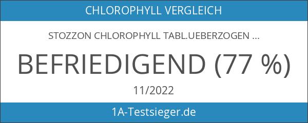 STOZZON Chlorophyll Tabl.ueberzogen