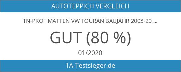 TN-Profimatten VW Touran Baujahr 2003-2010 Fußmatten - Autoteppiche Original Passform