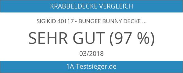 sigikid 40117 - Bungee Bunny Decke