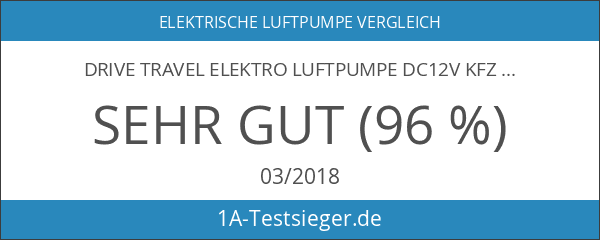 Drive Travel Elektro Luftpumpe DC12V KFZ Elektro-Luftpumpe mit Zigarettenanz¨¹nder -