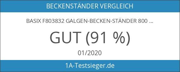 Basix F803832 Galgen-Becken-Ständer 800 Serie