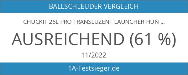 Chuckit 26L Pro transluzent Launcher Hundespielzeug