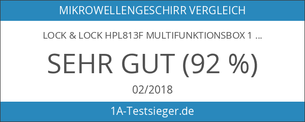 Lock & Lock HPL813F Multifunktionsbox 1