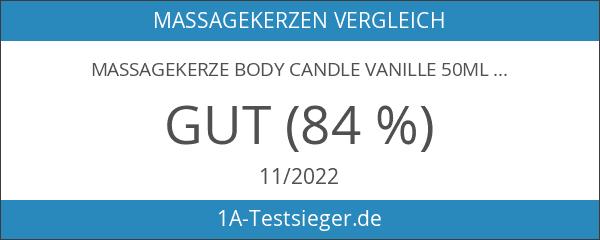Massagekerze Body Candle Vanille 50ml