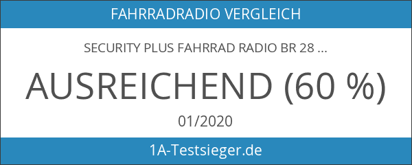 Security Plus Fahrrad Radio BR 28