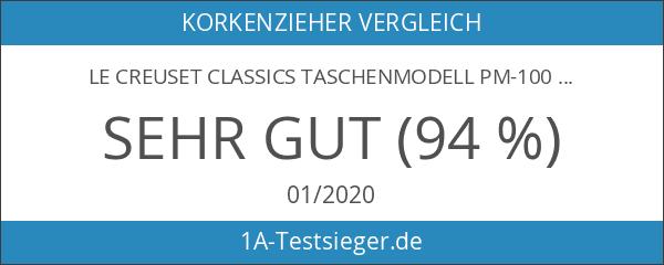 Le Creuset Classics Taschenmodell PM-100 schwarz