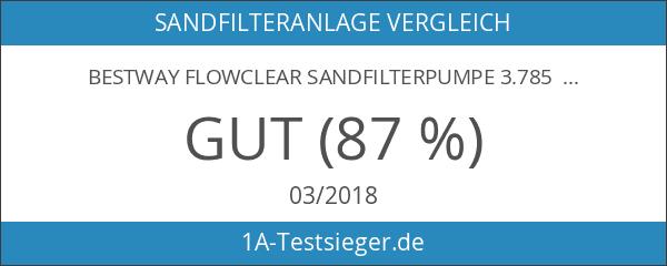 Bestway Flowclear Sandfilterpumpe 3.785 l