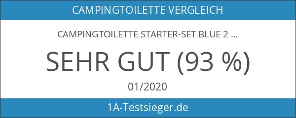 Campingtoilette Starter-Set Blue 2