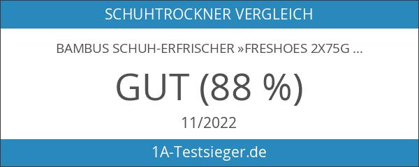 Bambus Schuh-Erfrischer »freShoes 2x75g« aus Aktivkohle