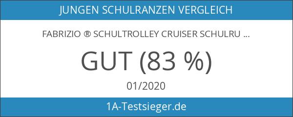 FABRIZIO ® Schultrolley CRUISER Schulrucksack Trolley