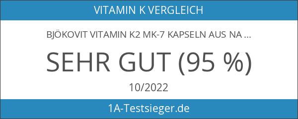 BjökoVit Vitamin K2 MK-7 Kapseln aus Natto