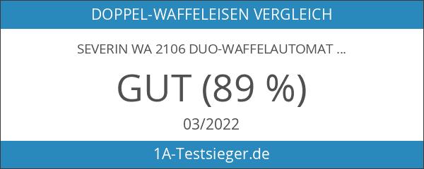Severin WA 2106 Duo-Waffelautomat