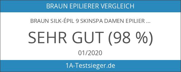 Braun Silk-épil 9 SkinSpa Damen Epilierer 9-961v