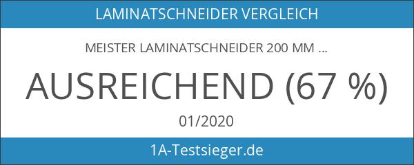Meister Laminatschneider 200 mm