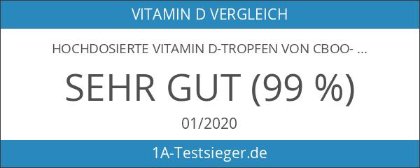 Hochdosierte Vitamin D-Tropfen von CBOO-VIT