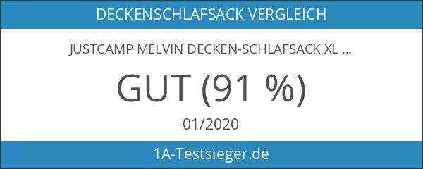 Justcamp Melvin Decken-Schlafsack XL