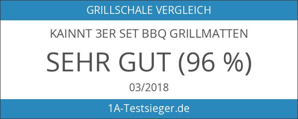 Kainnt 3er Set BBQ Grillmatten