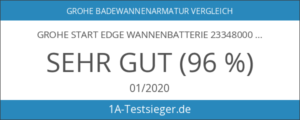 GROHE Start Edge Wannenbatterie 23348000
