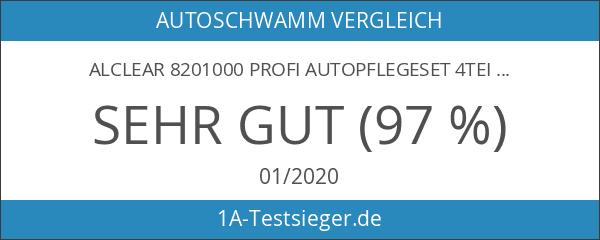ALCLEAR 8201000 Profi Autopflegeset 4teilig bestehend aus Trockenwunder