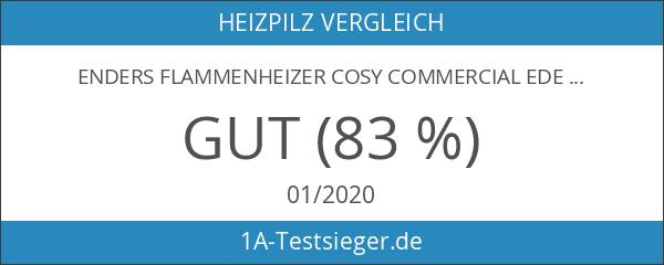 Enders Flammenheizer COSY COMMERCIAL Edelstahl Heizstrahler Terrassenstrahler 14 kW