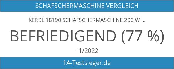 Kerbl 18190 Schafschermaschine 200 W
