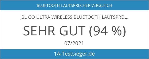 JBL Go Ultra Wireless Bluetooth Lautsprecher blau
