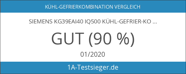 Siemens KG39EAI40 iQ500 Kühl-Gefrier-Kombination