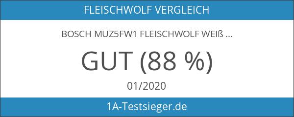 Bosch MUZ5FW1 Fleischwolf weiß