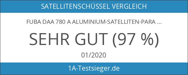 Fuba DAA 780 A Aluminium-Satelliten-Parabolantenne anthrazit