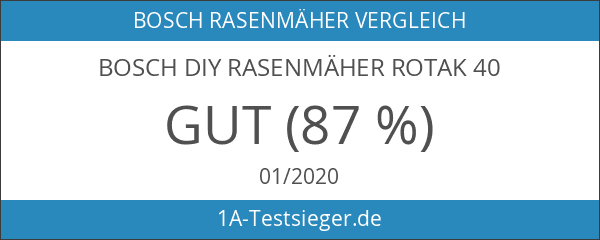 Bosch DIY Rasenmäher Rotak 40