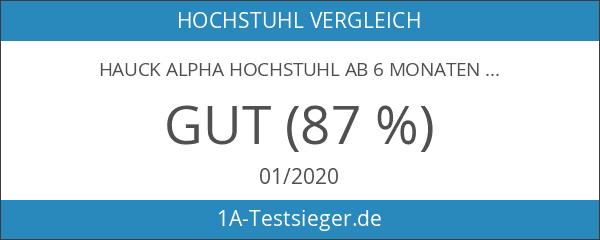 Hauck Alpha Hochstuhl ab 6 Monaten