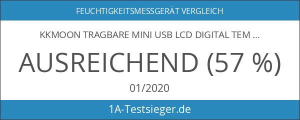 KKmoon Tragbare Mini USB LCD Digital Temperatur Feuchtigkeit Datenerfassung Logger