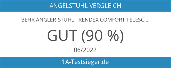 Behr Angler-Stuhl Trendex Comfort Telescopic PLUS - Angelstuhl - Stuhl-Carpchair