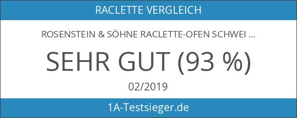 Rosenstein & Söhne Raclette-Ofen Schweizer Art