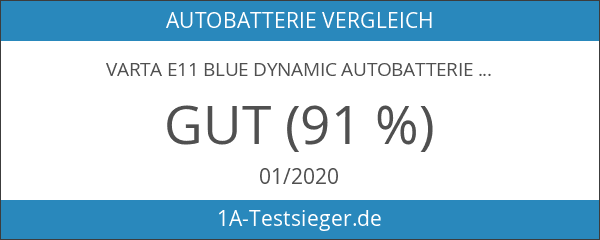 Varta E11 Blue Dynamic Autobatterie